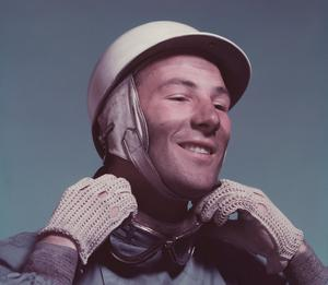Stirling Moss in 1955. Photo: Getty Images