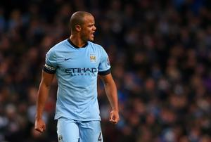 Vincent Kompany insists he is looking forward to Manchester City's crunch clash with Chelsea at Stamford Bridge. Photo: Alex Livesey/Getty Images