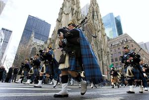 A GAY group is to be allowed to march in New York's Saint Patrick's Day parade for the first time ever next year.