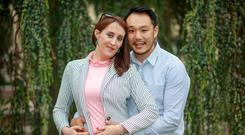 Michelle O'Doineannaigh and Kwanghi Chan met while working at Citywest Hotel. Photo: Arthur Carron
