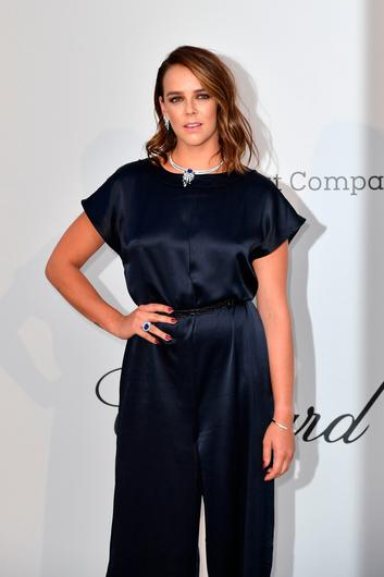 Pauline Ducruet arrives on May 23, 2019 for the amfAR 26th Annual Cinema Against AIDS gala at the Hotel du Cap-Eden-Roc in Cap d'Antibes, southern France, on the sidelines of the 72nd Cannes Film Festival. (Photo by Alberto PIZZOLI / AFP)ALBERTO PIZZOLI/AFP/Getty Images