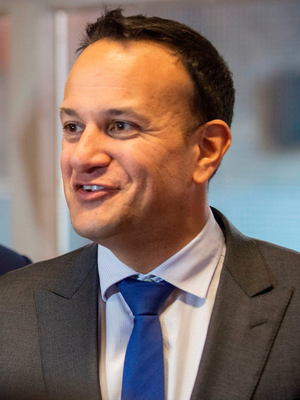 "'Taoiseach Leo Varadkar has said it is ""all to play for"", but he knows the future of this country is not a game' Photo: PA"