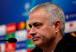 Jose Mourinho gives his reaction to Manchester United's Champions League defeat. Photo: Reuters