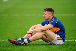 A dejected Pádraic Maher shows the pain of defeat after Tipperary's All-Ireland final loss to Kilkenny. Photo: Piaras O Midheach / SPORTSFILE