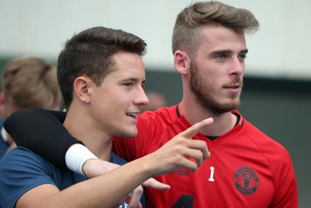 Herrera and De Gea are good friends outside of football. Getty Images