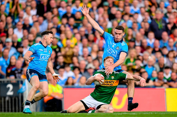 Triumph: Dublin on the way to their historic replay win over Kerry – now they will celebrate with a trip to Bali. Photo: Eóin Noonan/Sportsfile