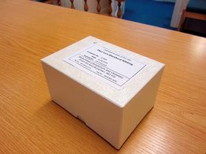 BEST QUALITY AVAILABLE Undated handout photo issued by Metropolitan Police of the small white casket containing the ashes of Fleur Whiting which have been stolen in a burglary in Croydon, south London. PRESS ASSOCIATION Photo. Issue date: Wednesday September 23, 2015. Her mother is appealing for her daughter's ashes to be returned after they were snatched from her home by burglars. See PA story POLICE Ashes. Photo credit should read: Metropolitan Police/PA Wire  NOTE TO EDITORS: This handout photo may only be used in for editorial reporting purposes for the contemporaneous illustration of events, things or the people in the image or facts mentioned in the caption. Reuse of the picture may require further permission from the copyright holder.