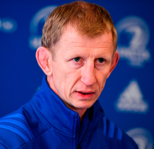 Leinster head coach Leo Cullen. Photo by Ramsey Cardy/Sportsfile