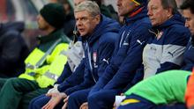 Arsene Wenger has revealed how he used to smoke in the dugout as a young manager to help combat stress