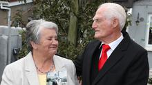 Marion and Fintan McCarthy are celebrating a special wedding anniversary this week