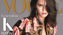 Kendall Jenner on the September cover of US Vogue. Photo credit: Mert Alas and Marcus Piggott/Vogue/PA Wire