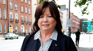 Former Tanaiste Mary Harney Photo: Steve Humphreys