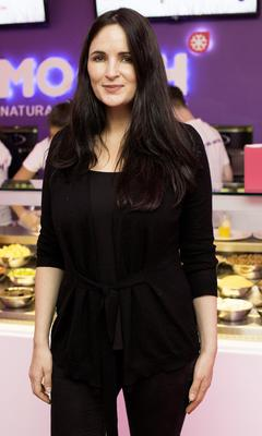 Andrea Roche pictured at the MOOCH FRO YO Dawson Street Store Launch Party. Photo: Anthony Woods.