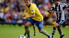 Mesut Ozil made an impressive start to his Arsenal career but has gone off the ball in recent months