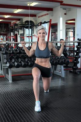Personal trainer Laura Connick. Photo: Martin Maher