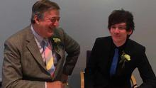 The photo Stephen Fry posted to Twitter