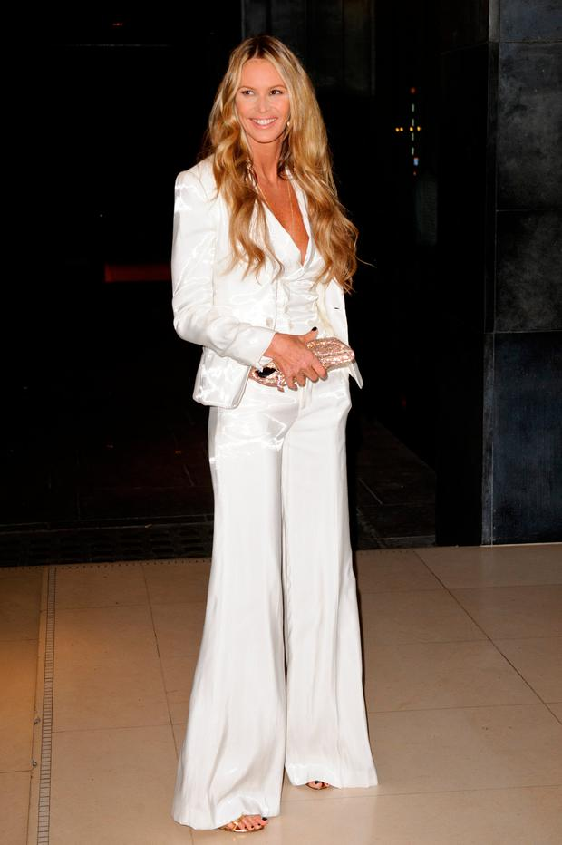 Elle Macpherson attends the Rodial Beautiful Awards at Sanderson Hotel on March 6, 2012 in London, England. (Photo by Ben Pruchnie/Getty Images)