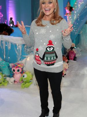A heavily pregnant Karen Koster at TV3's  Toy Show