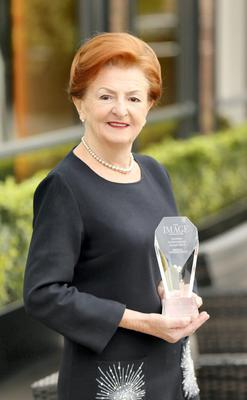 Breege O'Donoghue, Board Director, Primark, inaugural recipient of the Lifetime Achievement Award 2014 at The IMAGE Businesswoman of the Year Awards 2014. Photo Kieran Harnett