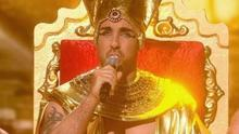 Stevi Ritchie in his penultimate X Factor performance