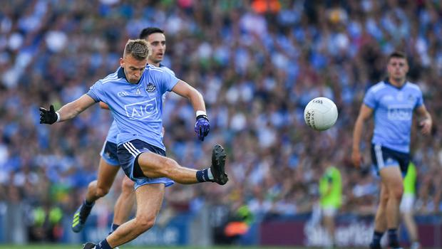 14 September 2019; Jonny Cooper of Dublin during the GAA Football All-Ireland Senior Championship Final Replay match between Dublin and Kerry at Croke Park in Dublin. Photo by Ray McManus/Sportsfile
