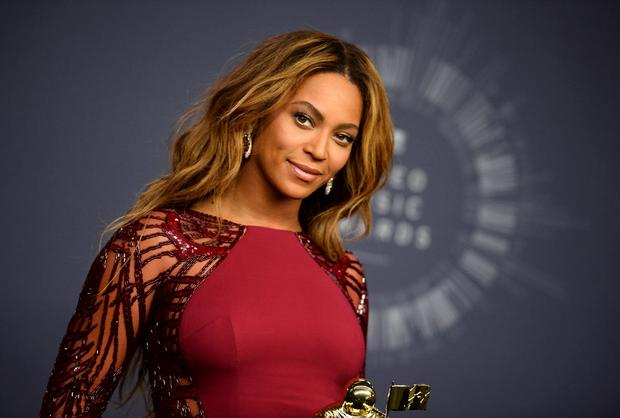 FAME AND FORTUNE: Beyonce caused a stir at this year's MTV Video Music Awards