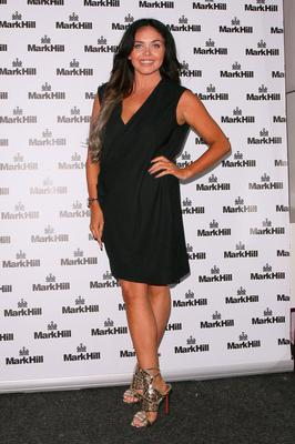 Scarlett Moffatt attending the Mark Hill Hair, Pick N Mix launch event on July 27, 2016 in London, England.  (Photo by Mark Robert Milan/GC Images)