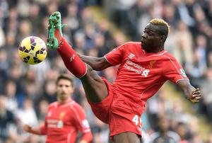 Liverpool's Mario Balotelli during the match at St. James' Park. Owen Humphreys/PA Wire