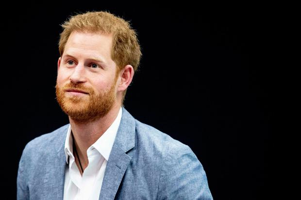 Prince Harry attends the presentation of the Invictus Games The Hague 2020, in The Hague, Netherlands, on May 9, 2019. - The fifth Invictus Games The Hague 2020, an international sporting event for wounded, injured and sick servicepersonnel, will be held in the Zuiderpark in 2020. (Photo by patrick van katwijk / ANP / AFP) / Netherlands OUTPATRICK VAN KATWIJK/AFP/Getty Images