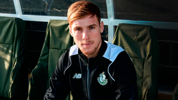 Daniel Devine is hoping to resurrect his football career at Shamrock Rovers after a series of injury setbacks Photo by Piaras Ó Mídheach/Sportsfile