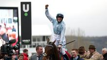 Honeysuckle ridden by Rachael Blackmore following victory in the Close Brothers Mares' Hurdle on day one of the Cheltenham Festival.