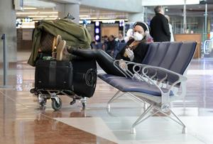 Many would-be passengers will find their flights cancelled. Picture: Reuters