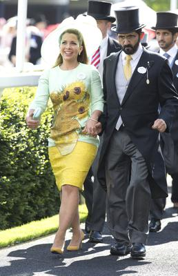 Princess Haya, the sixth wife of Sheikh Mohammed