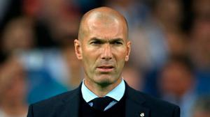 Zinedine Zidane is looking to lead Real Madrid to a comeback against Man City in the Champions League last 16. Nick Potts/PA Wire