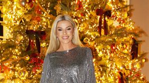 Pippa O'Connor at the River Island Christmas Dinner at Luttrellstown Castle. Picture: Photocall Ireland