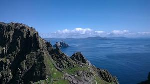 Skellig Michael, by Bill Domican.