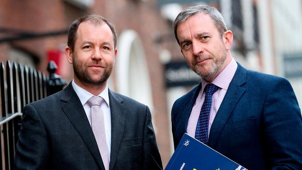 ITIC chief executive Eoghan O'Mara Walsh (left) wants the Government to be proactive. Photo: Maxwells