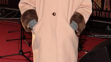 Kelly Donegan  tonight at The Irish Premiere of Anchorman 2 : The Legend Continues at The Savoy Cinema Dublin  Pictures Brian McEvoy
