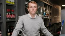 Former Hurler of the Year Lar Corbett behind the bar in his Thurles pub which has been closed since the coronavirus lockdown began in March. Photo: Liam Burke/Press 22
