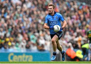 Jack McCaffrey in action for Dublin during the 2015 season