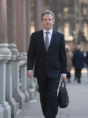 Christopher Steele, the former MI6 agent who set-up Orbis Business Intelligence and compiled a dossier on Donald Trump, in London where he has spoken to the media for the first time. (Image: Victoria Jones/PA Wire)