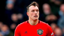 Phil Jones has not played since January due to injury but remains a subject of ridicule on social media. Photo: PA