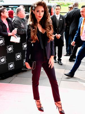 Megan McKenna attends the TRIC Awards 2017 on March 14, 2017 in London, United Kingdom.  (Photo by Gareth Cattermole/Getty Images)