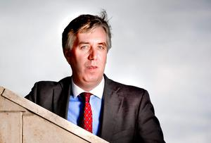 'The FAI had a 'credibility issue' when John Delaney took over in 2004, according to him, but few could argue that it hasn't returned.' Photo: David Conachy