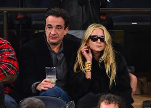Olivier Sarkozy and Mary-Kate Olsen in 2012