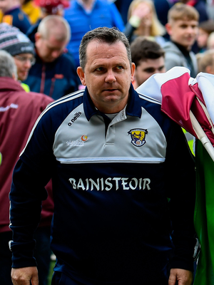 Angry: Davy Fitzgerald. Photo by Stephen McCarthy/Sportsfile