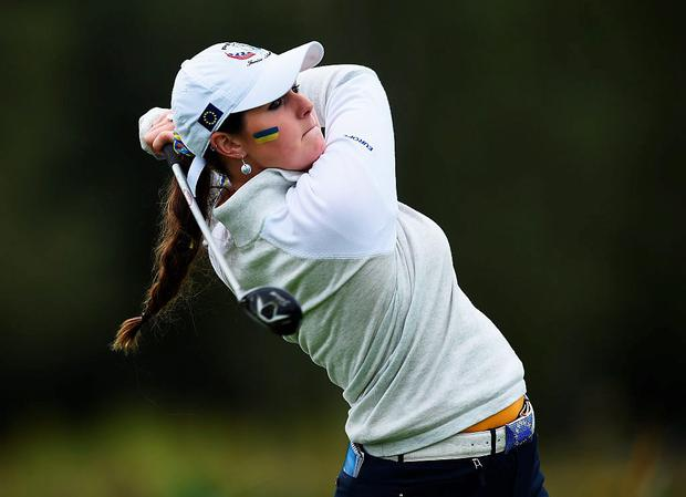 Olivia Mehaffey suffered a collapse Photo: Getty 2015