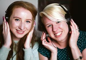 Eimear O'Carroll and Rhona Togher, co-founders of Restored Hearing