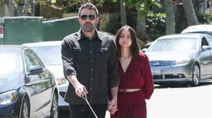 Ben Affleck and Ana de Armas are seen on March 30, 2020 in Los Angeles, California.  (Photo by BG004/Bauer-Griffin/GC Images)