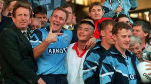 Jason Sherlock won an All-Ireland in his first year on the Dublin panel in 1995. David Maher/SPORTSFILE